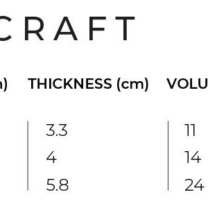tabla foil slingshot dwarf craft medidas